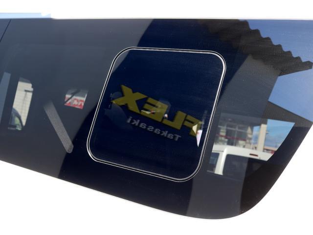 GL ガソリン 4WD 6型 パールホワイト フロントバンパーガード オーバーフェンダー 16インチアルミ オールテレーンタイヤ ベッドキット テーブルキット フロア施工 シートカバー SDナビ ETC(33枚目)
