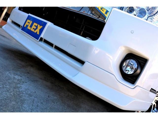 GL ガソリン 4WD 6型 パールホワイト 1.15インチローダウン フロントスポイラー オーバーフェンダー 17インチアルミ H20タイヤ LEDテール ベッド テーブル フロア施工 SDナビ ETC(9枚目)