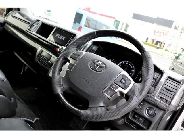 GL ガソリン 4WD 6型 パールホワイト 1.15インチローダウン フロントスポイラー オーバーフェンダー 17インチアルミ H20タイヤ LEDテール ベッド テーブル フロア施工 SDナビ ETC(14枚目)