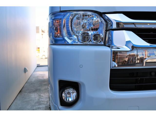 GL ガソリン 4WD 6型 パールホワイト 1.15インチローダウン フロントスポイラー オーバーフェンダー 17インチアルミ H20タイヤ LEDテール ベッド テーブル フロア施工 SDナビ ETC(21枚目)