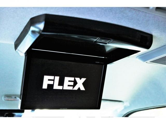 GL ロング ハイエースワゴン GL 2WD パールホワイト Ver1.5 1.5インチローダウン オーバーフェンダー 17インチアルミ LEDテール ベッド テーブル フロア施工 SDナビ ETC フリップダウン(8枚目)