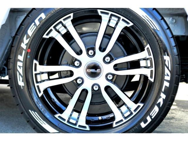 GL ロング ハイエースワゴン GL 2WD パールホワイト Ver1.5 1.5インチローダウン オーバーフェンダー 17インチアルミ LEDテール ベッド テーブル フロア施工 SDナビ ETC フリップダウン(20枚目)
