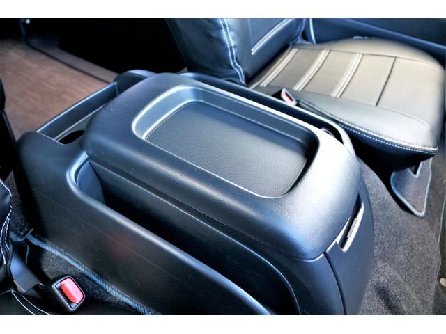 GL ロング ハイエースワゴン GL 2WD パールホワイト Ver1.5 1.5インチローダウン オーバーフェンダー 17インチアルミ LEDテール ベッド テーブル フロア施工 SDナビ ETC フリップダウン(39枚目)