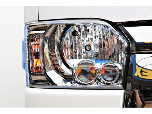 スーパーGL ダークプライムII ロングボディ パールホワイト 4WD 6型 バンパーガード オーバーフェンダー 16インチAW TOYOオープンカントリータイヤ LEDテールランプ  SDナビ(22枚目)