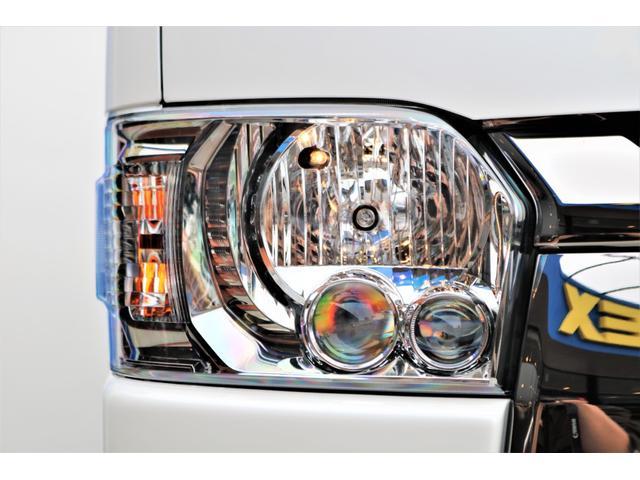 スーパーGL ダークプライムII ロングボディ パールホワイト 4WD 6型 バンパーガード オーバーフェンダー 16インチAW TOYOオープンカントリータイヤ LEDテールランプ  SDナビ(23枚目)