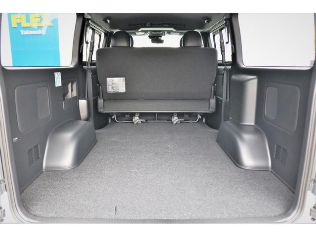 スーパーGL ダークプライムII ロングボディ パールホワイト 4WD 6型 バンパーガード オーバーフェンダー 16インチAW TOYOオープンカントリータイヤ LEDテールランプ  SDナビ(42枚目)