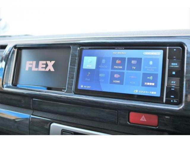 GL ロング ファインテックツアラー 4WD 寒冷地仕様 キャプテンシート トリプルモニター 1.15ローダウン 17インチAW ホワイトレターナスカータイヤ LEDテール ブラックレザー調シートカバー 黒木目インテリア(6枚目)