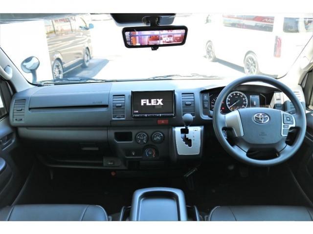 DX ロング GLパッケージ ディーゼルターボ 4WD FLEXオリジナルキャンピングNHーTYPE02 8人乗り就寝3名 サブバッテリー 走行充電 ENGEL冷蔵庫 シンク 外部電源 遮光カーテン FFヒーター(13枚目)