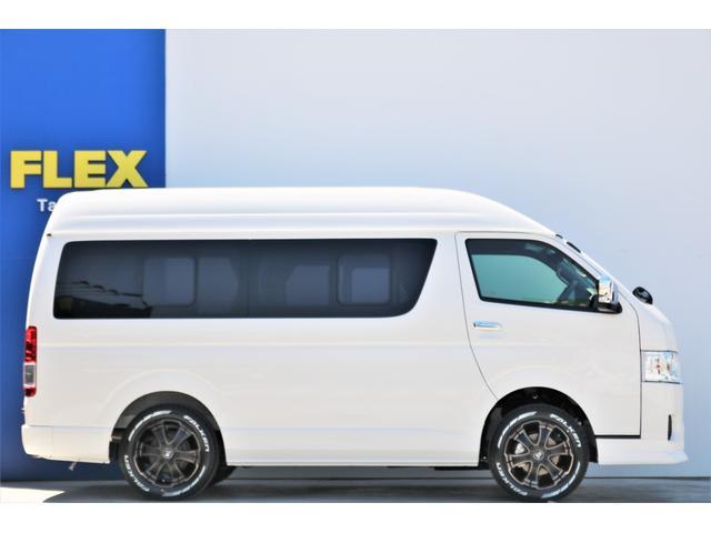 DX ロング GLパッケージ ディーゼルターボ 4WD FLEXオリジナルキャンピングNHーTYPE02 8人乗り就寝3名 サブバッテリー 走行充電 ENGEL冷蔵庫 シンク 外部電源 遮光カーテン FFヒーター(32枚目)