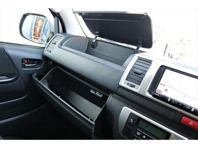 ロングスーパーGL 2WD 4型 TSS付き ダークブルーM フロントスポイラー 17インチAW ホワイトレタータイヤ 1.5ローダウン アルティメットLEDテール シートカバー SDナビ(8枚目)