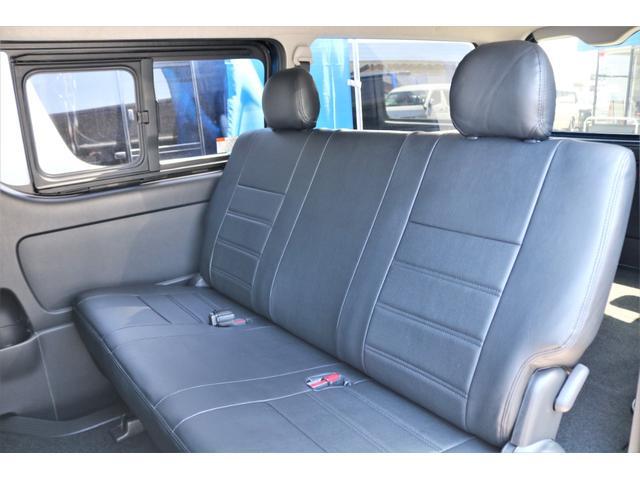 ロングスーパーGL 2WD 4型 TSS付き ダークブルーM フロントスポイラー 17インチAW ホワイトレタータイヤ 1.5ローダウン アルティメットLEDテール シートカバー SDナビ(9枚目)