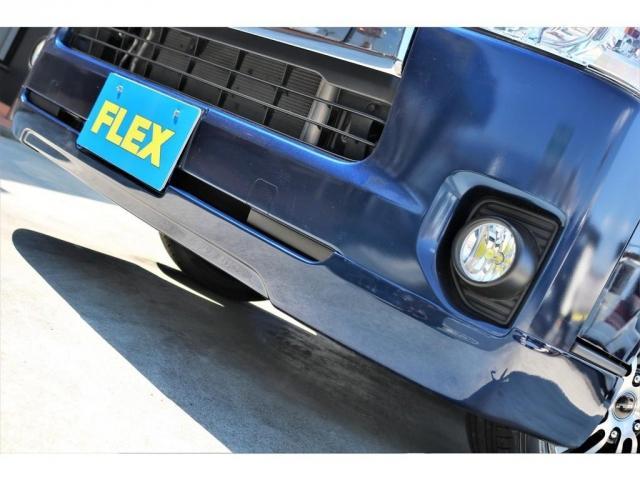 ロングスーパーGL 2WD 4型 TSS付き ダークブルーM フロントスポイラー 17インチAW ホワイトレタータイヤ 1.5ローダウン アルティメットLEDテール シートカバー SDナビ(12枚目)
