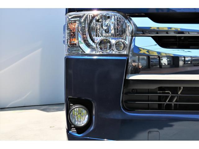 ロングスーパーGL 2WD 4型 TSS付き ダークブルーM フロントスポイラー 17インチAW ホワイトレタータイヤ 1.5ローダウン アルティメットLEDテール シートカバー SDナビ(21枚目)