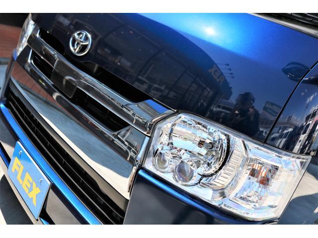 ロングスーパーGL 2WD 4型 TSS付き ダークブルーM フロントスポイラー 17インチAW ホワイトレタータイヤ 1.5ローダウン アルティメットLEDテール シートカバー SDナビ(27枚目)