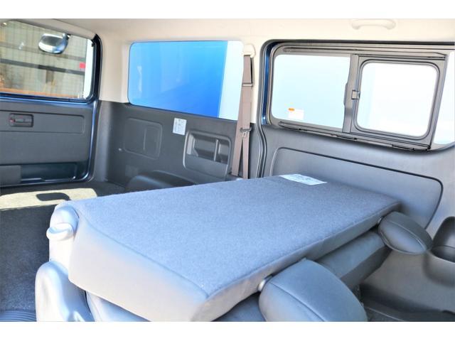 ロングスーパーGL 2WD 4型 TSS付き ダークブルーM フロントスポイラー 17インチAW ホワイトレタータイヤ 1.5ローダウン アルティメットLEDテール シートカバー SDナビ(39枚目)