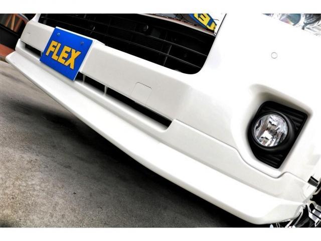 GL ロング 2WD ガソリン 6型 パール 内装架装Ver1 フロントスポイラー オーバーフェンダー 17インチAW 1.5インチローダウン SDナビ フリップD シートカバー(13枚目)