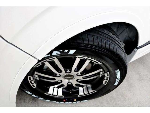 GL ロング 2WD ガソリン 6型 パール 内装架装Ver1 フロントスポイラー オーバーフェンダー 17インチAW 1.5インチローダウン SDナビ フリップD シートカバー(19枚目)