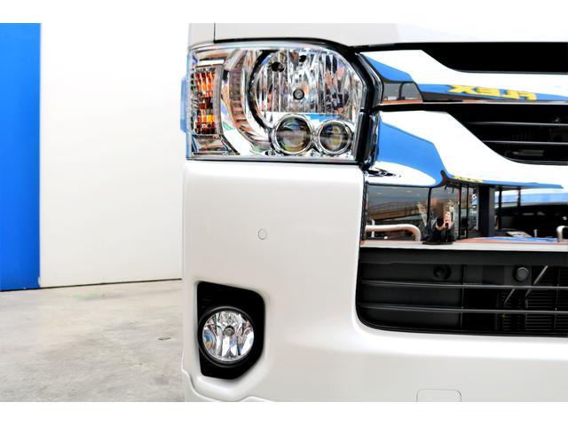 GL ロング 2WD ガソリン 6型 パール 内装架装Ver1 フロントスポイラー オーバーフェンダー 17インチAW 1.5インチローダウン SDナビ フリップD シートカバー(21枚目)