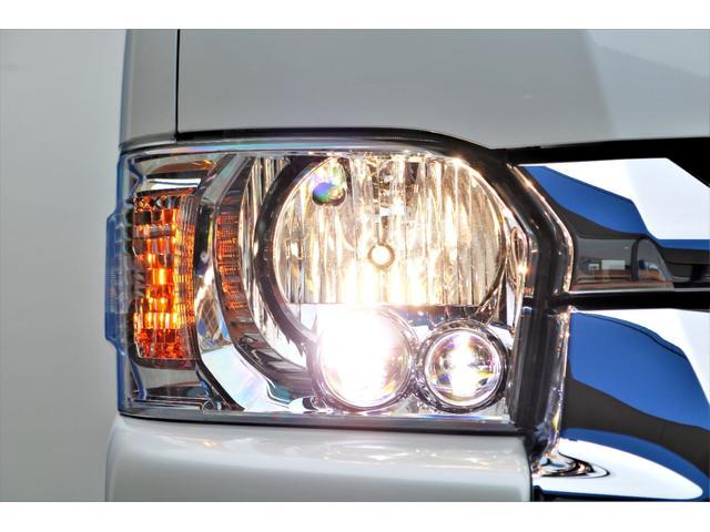 GL ロング 2WD ガソリン 6型 パール 内装架装Ver1 フロントスポイラー オーバーフェンダー 17インチAW 1.5インチローダウン SDナビ フリップD シートカバー(26枚目)