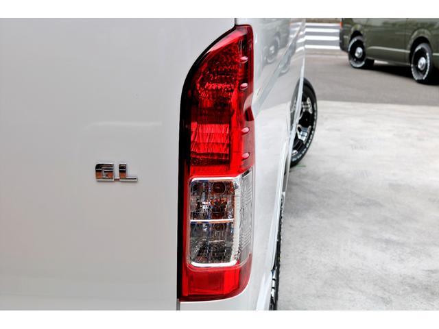GL ロング 2WD ガソリン 6型 パール 内装架装Ver1 フロントスポイラー オーバーフェンダー 17インチAW 1.5インチローダウン SDナビ フリップD シートカバー(31枚目)