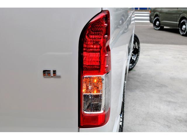 GL ロング 2WD ガソリン 6型 パール 内装架装Ver1 フロントスポイラー オーバーフェンダー 17インチAW 1.5インチローダウン SDナビ フリップD シートカバー(32枚目)