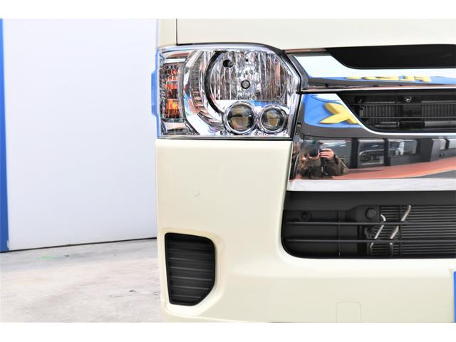 ロングDX GLパッケージ 6型 ライトイエロー フロントスポイラー オーバーフェンダー 2インチローダウン 16インチAW バックカメラ TSS装置 ベッドキット SDナビ ビルトインETC(24枚目)