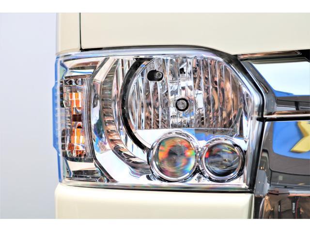 ロングDX GLパッケージ 6型 ライトイエロー フロントスポイラー オーバーフェンダー 2インチローダウン 16インチAW バックカメラ TSS装置 ベッドキット SDナビ ビルトインETC(25枚目)