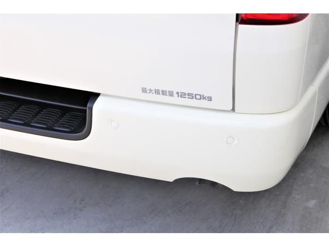 ロングDX GLパッケージ 6型 ライトイエロー フロントスポイラー オーバーフェンダー 2インチローダウン 16インチAW バックカメラ TSS装置 ベッドキット SDナビ ビルトインETC(31枚目)