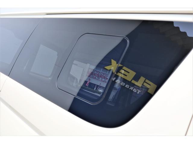 ロングDX GLパッケージ 6型 ライトイエロー フロントスポイラー オーバーフェンダー 2インチローダウン 16インチAW バックカメラ TSS装置 ベッドキット SDナビ ビルトインETC(32枚目)