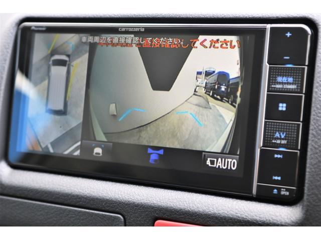 ロングDX GLパッケージ 6型 ライトイエロー フロントスポイラー オーバーフェンダー 2インチローダウン 16インチAW バックカメラ TSS装置 ベッドキット SDナビ ビルトインETC(58枚目)