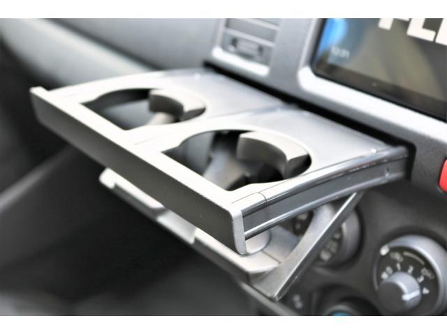 ロングDX GLパッケージ 6型 ライトイエロー フロントスポイラー オーバーフェンダー 2インチローダウン 16インチAW バックカメラ TSS装置 ベッドキット SDナビ ビルトインETC(63枚目)