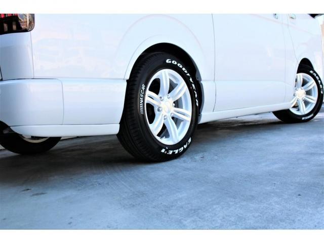 スーパーGL ダークプライムII 2WD ガソリン 6型 フロントスポイラー オーバーフェンダー 17インチAW ヘッドライト(070) ミラーカバー(070) テールランプ SDナビ ビルトインETC(4枚目)