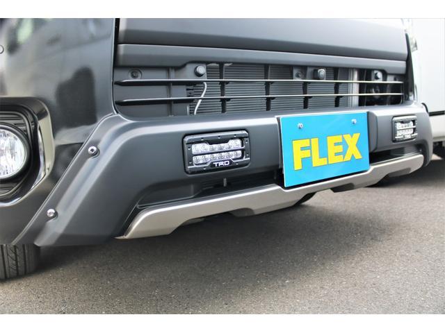 スーパーGL ダークプライムII 6型 DT 4WD ブラック MB塗装 ウィンカーミラー バンパーガード オーバーフェンダー 17AW 1.15インチローダウン LEDテール 床張施工 SDナビ フリップダウンモニター ETC(3枚目)