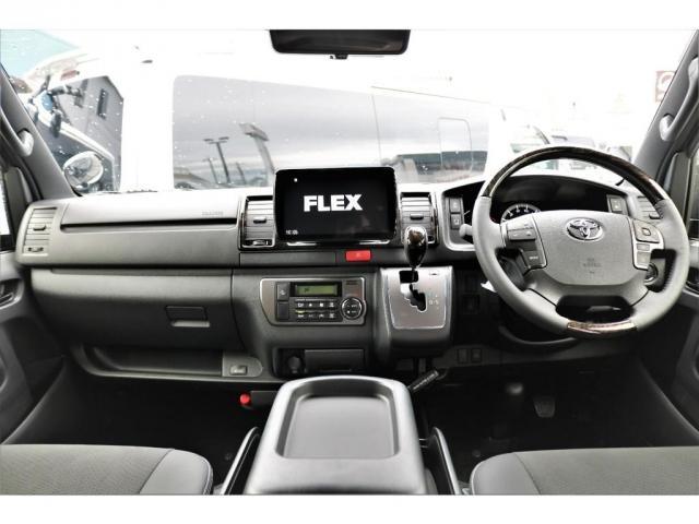 スーパーGL ダークプライムII 6型 DT 4WD ブラック MB塗装 ウィンカーミラー バンパーガード オーバーフェンダー 17AW 1.15インチローダウン LEDテール 床張施工 SDナビ フリップダウンモニター ETC(5枚目)