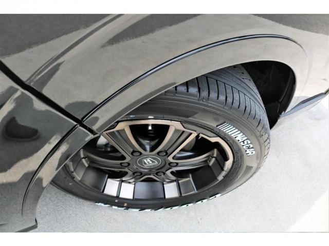 スーパーGL ダークプライムII 6型 DT 4WD ブラック MB塗装 ウィンカーミラー バンパーガード オーバーフェンダー 17AW 1.15インチローダウン LEDテール 床張施工 SDナビ フリップダウンモニター ETC(18枚目)