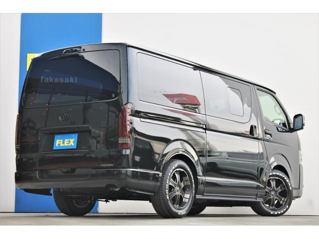 スーパーGL ダークプライムII 6型 DT 4WD ブラック MB塗装 ウィンカーミラー バンパーガード オーバーフェンダー 17AW 1.15インチローダウン LEDテール 床張施工 SDナビ フリップダウンモニター ETC(23枚目)
