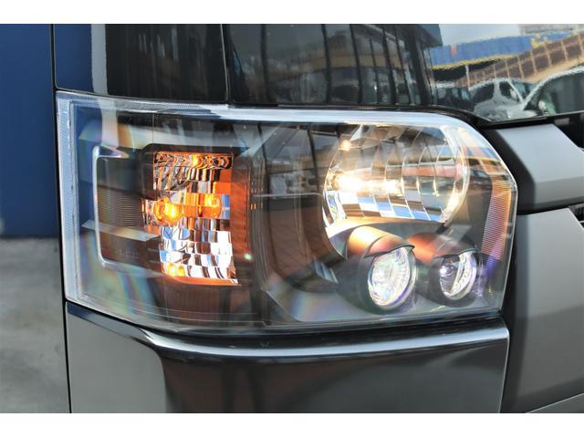 スーパーGL ダークプライムII 6型 DT 4WD ブラック MB塗装 ウィンカーミラー バンパーガード オーバーフェンダー 17AW 1.15インチローダウン LEDテール 床張施工 SDナビ フリップダウンモニター ETC(25枚目)