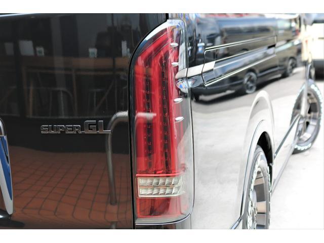 スーパーGL ダークプライムII 6型 DT 4WD ブラック MB塗装 ウィンカーミラー バンパーガード オーバーフェンダー 17AW 1.15インチローダウン LEDテール 床張施工 SDナビ フリップダウンモニター ETC(33枚目)