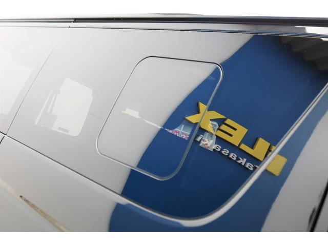 スーパーGL ダークプライムII 6型 DT 4WD ブラック MB塗装 ウィンカーミラー バンパーガード オーバーフェンダー 17AW 1.15インチローダウン LEDテール 床張施工 SDナビ フリップダウンモニター ETC(36枚目)