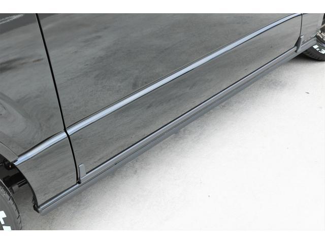 スーパーGL ダークプライムII 6型 DT 4WD ブラック MB塗装 ウィンカーミラー バンパーガード オーバーフェンダー 17AW 1.15インチローダウン LEDテール 床張施工 SDナビ フリップダウンモニター ETC(45枚目)