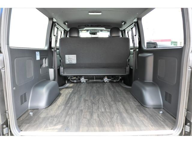スーパーGL ダークプライムII 6型 DT 4WD ブラック MB塗装 ウィンカーミラー バンパーガード オーバーフェンダー 17AW 1.15インチローダウン LEDテール 床張施工 SDナビ フリップダウンモニター ETC(49枚目)