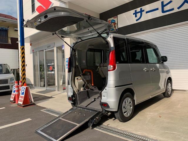 車いす移動車G リアシート付き アイドリングストップ 保証書(15枚目)