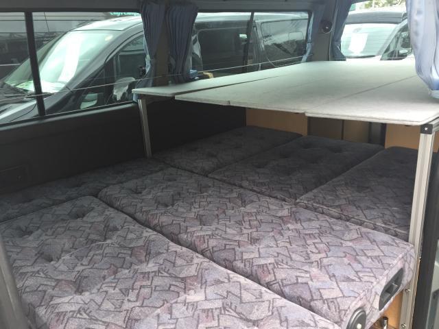 クラフトキャンパー タイプI 3名就寝フラット2段ベッド(10枚目)
