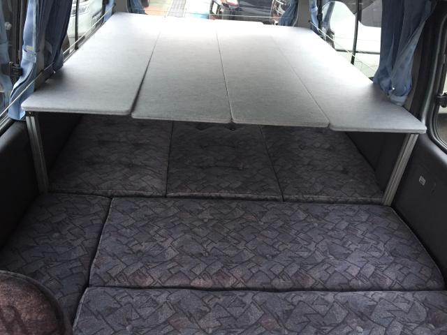 クラフトキャンパー タイプI 3名就寝フラット2段ベッド(11枚目)