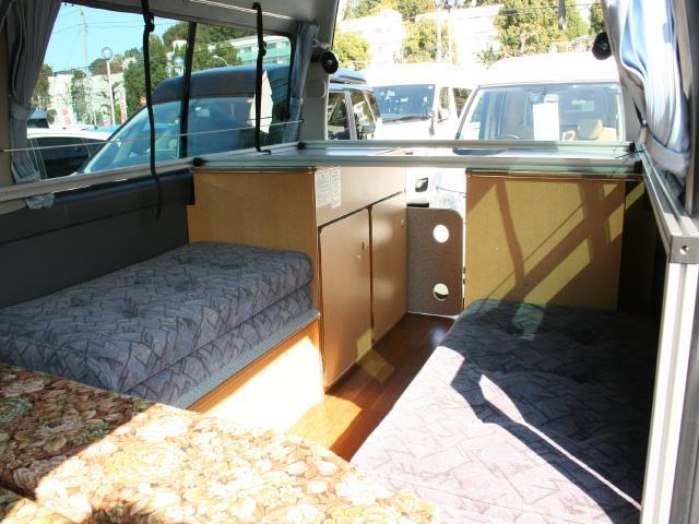 クラフトキャンパー タイプI 3名就寝フラット2段ベッド(15枚目)