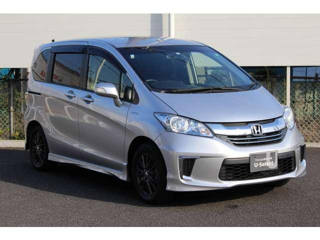 Honda人気ちょうどイイサイズのミニバン。フリードハイブリッド1.5プレミアムエディションのご案内です。