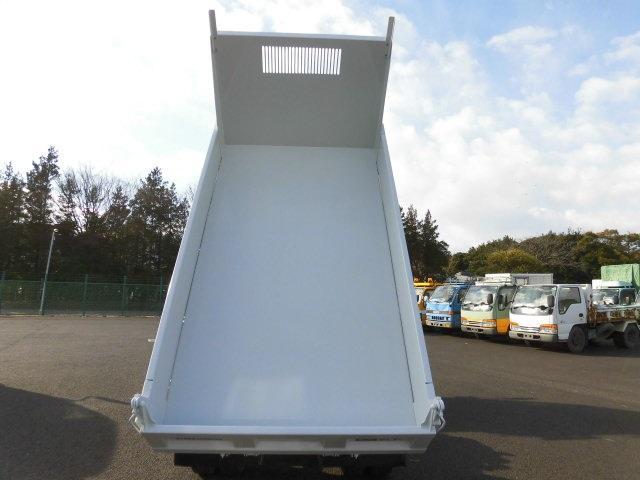 いすゞ エルフトラック 2t フルフラットロー 5MT 強化ダンプ 保証付