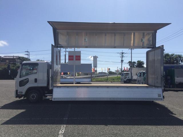 ウイング 積載3.100kg・日本フルハーフ製・ラッシング2段・運転支援システム・ETC・バックカメラ・距離313.000km・6MT(12枚目)