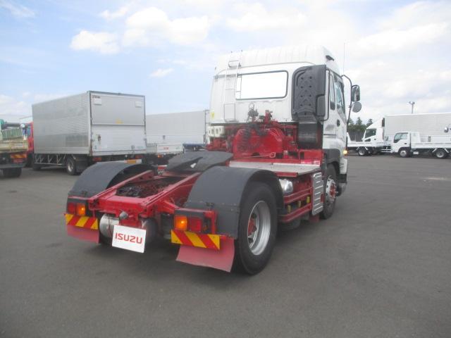 トラクタ SOHSHIN製カプラ・第五輪荷重11.500kg・ハイルーフ・助手席側電格ミラー・キーレス・距離362.000km・7MT(2枚目)