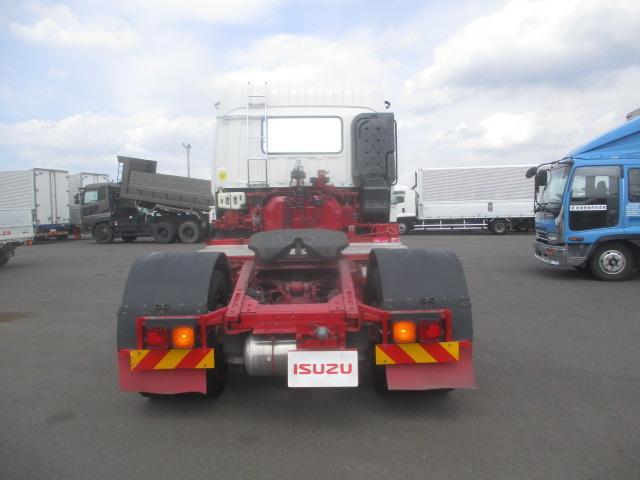 トラクタ SOHSHIN製カプラ・第五輪荷重11.500kg・ハイルーフ・助手席側電格ミラー・キーレス・距離362.000km・7MT(3枚目)